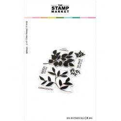 The Stamp Market Big Botanicals Stamp Set