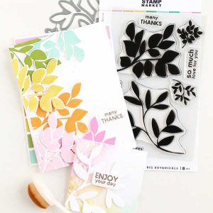 The Stamp Market Big Botanicals Die Set class=