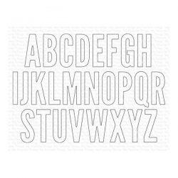 My Favorite Things Impact Alphabet Die-namics