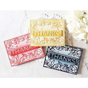 Ink To Paper On The Border: Floral Bliss Die class=