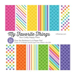 "My Favorite Things Over The Rainbow Paper Pack - 6"" x 6"""