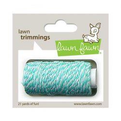 Lawn Fawn Trimmings Hemp Cord - Aquamarine