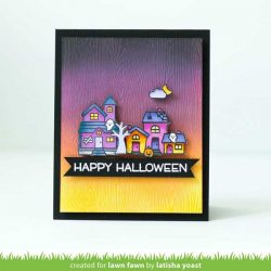Lawn Fawn Spooky Village Stamp Set