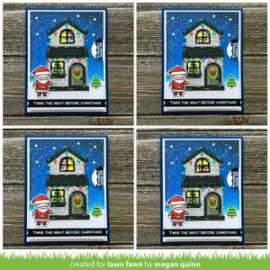Lawn Fawn Tiny Christmas Stamp Set class=