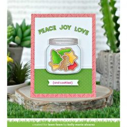 Lawn Fawn Offset Sayings: Christmas Stamp Set