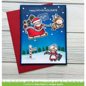 Lawn Fawn Ho-Ho-Holidays Stamp Set class=