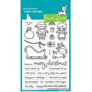 Lawn Fawn Ho-Ho-Holidays Stamp Set