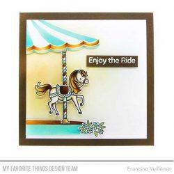 My Favorite Things Carousel Horses Die-namics