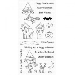 My Favorite Things Best Witches Stamp Set
