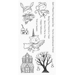 My Favorite Things Spooktacular Friends Stamp Set