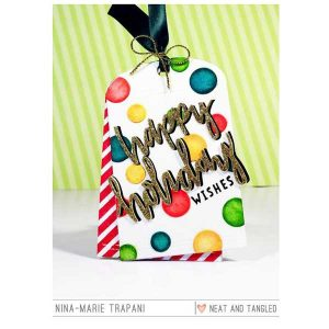 Neat & Tangled Happy Holidays Stamp Set class=
