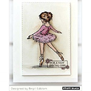 Penny Black Ballet Beauty Stamp class=