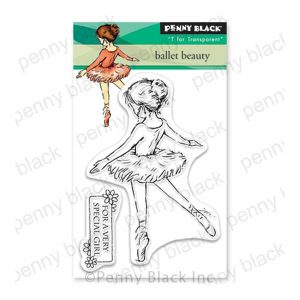 Penny Black Ballet Beauty Stamp