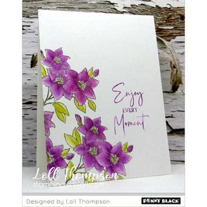 Penny Black Flower Collection Stamp Set class=