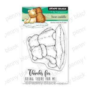 Penny Black Bear Cuddle Stamp Set
