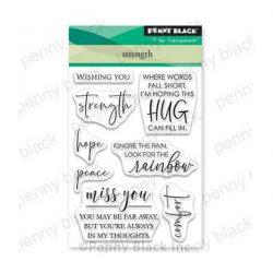Penny Black Strength Stamp Set