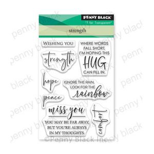 Penny Black Strength Stamp Set