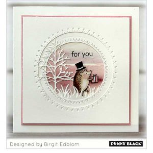Penny Black Hedgie Presents Stamp Set class=