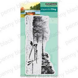 Penny Black Calm Waters Cling Stamp