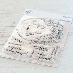 Pinkfresh Studio Hanging Florals Stamp Set