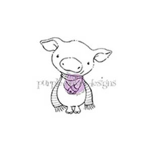Purple Onion Designs Curly Stamp