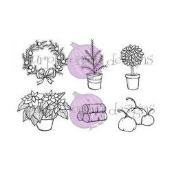Purple Onion Designs Door Decor #1 Fall/Winter Stamp