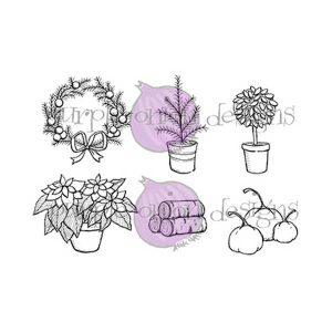 Purple Onion Designs Door Decor #1 Fall/Winter Stamp