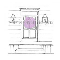Purple Onion Designs Front Door Stamp