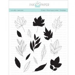 Ink To Paper Lovely Leaves Stamp Set
