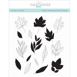 "Ink To Paper Lovely Leaves Stamp Set <span style=""color:red;"">Reserve - more on the way</span> class="