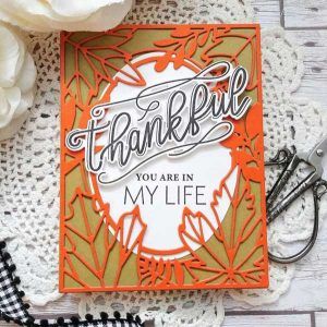 Ink to Paper Thankful Thoughts Stamp Set class=