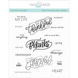 Ink to Paper Thankful Thoughts Stamp Set