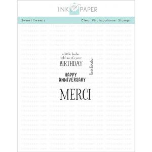 Ink To Paper Sweet Tweets Mini Stamp Set