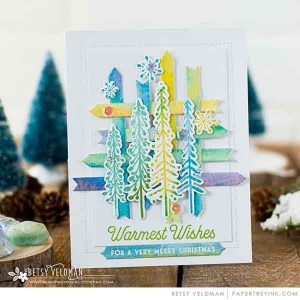 Papertrey Ink Enchanted Forest Die class=