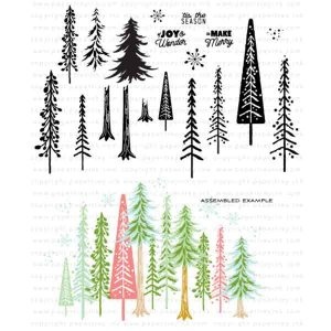 Papertrey Ink Enchanted Forest Stamp Set