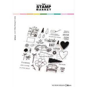The Stamp Market So Mini Hellos Stamp Set
