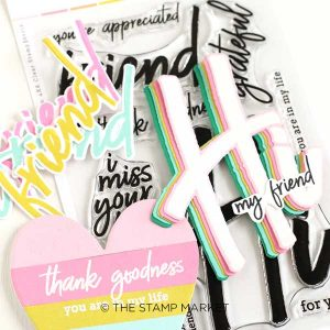 The Stamp Market Friendship Stamp Set class=