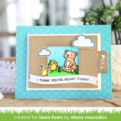 Lawn Fawn Winter Wavy Sayings Stamp Set