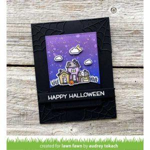 Lawn Fawn Spooky Village Lawn Cuts class=