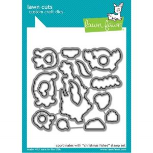 Lawn Fawn Christmas Fishes Lawn Cuts