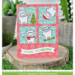 Lawn Fawn Yeti or Not Stamp Set class=