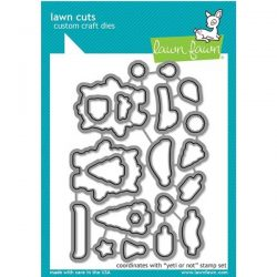 Lawn Fawn Yeti or Not Lawn Cuts