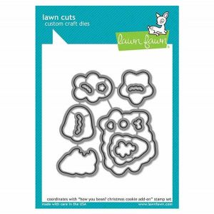 Lawn Fawn How You Bean? Christmas Cookie Add-on Lawn Cuts
