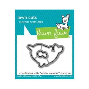 Lawn Fawn Winter Narwhal Lawn Cuts