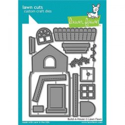 Lawn Fawn Build-A-House Lawn Cuts