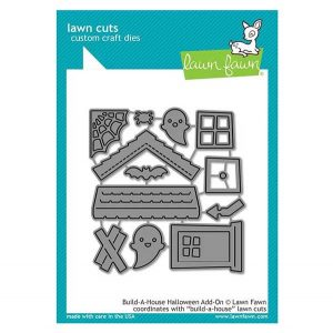 Lawn Fawn Build-A-House Halloween Add-On Lawn Cuts