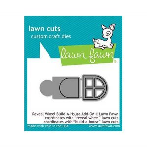 Lawn Fawn Reveal Wheel Build-A-House Add-On Lawn Cuts