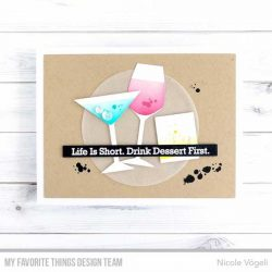 My Favorite Things A Toast To You Stamp Set