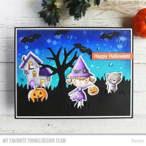 My Favorite Things Best Witches Stamp Set class=