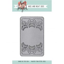 Neat & Tangled Doily Tag Die